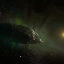"""Astronomai pastebėjo """"mažiausiai palytėtą"""" kometą, atskriejusią iš už Saulės sistemos ribų"""