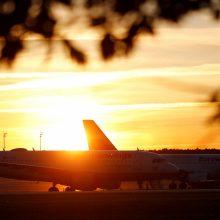 """Skrydžių bendrovė """"Eurowings"""" priversta raudonuoti dėl uždaryto Sardinijos oro uosto"""