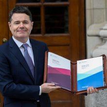 Airijos finansų ministras iškėlė savo kandidatūrą į Eurogrupės vadovo postą