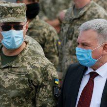 Ukraina 2021 metais sieks glaudesnių santykių su NATO