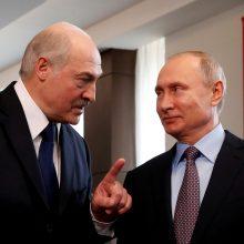 A. Lukašenka ir V. Putinas aptarė padėtį pasaulyje, taip pat ir Lietuvoje