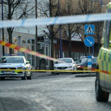 Švedijoje per įtariamą teroristinį išpuolį subadyti aštuoni žmonės