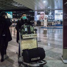 ES piliečiai lėktuvais bus evakuoti iš naujo viruso protrūkio epicentro Kinijoje