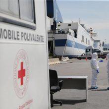 Italijoje per parą užfiksuota mažiau nei 600 mirčių nuo COVID-19