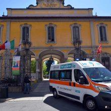 Italijoje per parą mirė 587 koronavirusu užsikrėtę pacientai