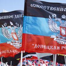 Kijevas pareikalavo Maskvos atšaukti sprendimą dėl palengvinto pasų išdavimo Donbase