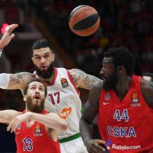 Vitorijos krepšininkai išlygino Eurolygos ketvirtfinalio serijos rezultatą