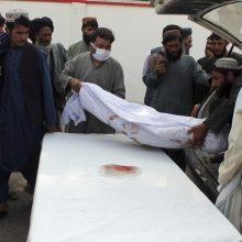 JT apkaltino Afganistano pajėgas dėl aukų pareikalavusių sprogimų turguje