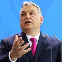 """V. Orbanas: Vengrija norėtų prisidėti prie Turkijos """"saugios zonos"""" Sirijoje statymo"""
