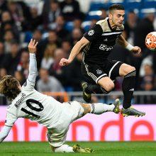 """Madrido """"Real"""" fiasko Čempionų lygoje – patyrė triuškinančią nesėkmę ir iškrito"""