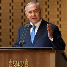 Nepavykus suformuoti koalicinės vyriausybės, B. Netanyahu grąžina mandatą prezidentui