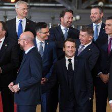 ES šalių vadovai sutarė pratęsti sankcijas Rusijai dar pusmečiui