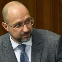Premjeras: tėvynėje persekiojami baltarusiai gali rasti apsaugą Ukrainoje