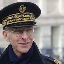 Paryžiaus policijos vadas šokiravo savo pasisakymu apie Covid-19 pacientus