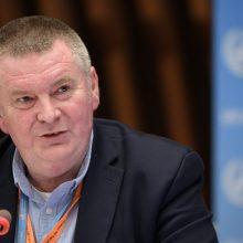 PSO ragina šalis stabdyti koronaviruso protrūkius: duomenys nemeluoja