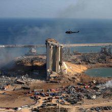 Tyrėjai: sprogimas Beiruto uoste įvyko dėl aplaidumo