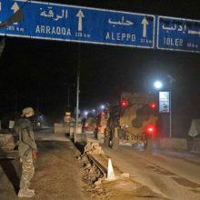 Turkija žada keršyti, jei kils grėsmė jos armijos postams Idlibe