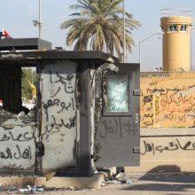 Saugumo šaltiniai: į JAV ambasadą Irake paleistos mažiausiai 3 raketos
