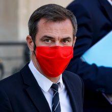 Prancūzijos sveikatos apsaugos ministras: šalyje sparčiai plinta naujųjų atmainų koronavirusas