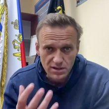 Į konfrontaciją su Kremliumi stojęs A. Navalnas užsidirbo sau taškų