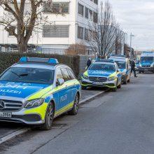 """Vokietijoje per sprogimą """"Lidl"""" būstinėje sužeisti trys žmonės"""