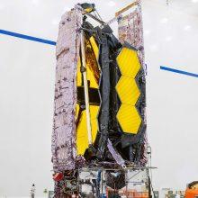 NASA gruodį į orbitą paleis naują teleskopą