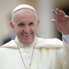 Popiežius: moterys turi teisėtų reikalavimų dėl teisingumo ir lygybės
