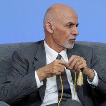 Afganistano prezidentas: susitarimas dėl smurto mažinimo įsigalios vidurnaktį