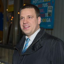 J. Ratas: Estijos vyriausybės krizė yra įveikta