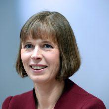 Estijos prezidentė patvirtino trijų partijų koalicinę vyriausybę