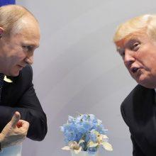 V. Putinas ir D. Trumpas telefonu aptarė G-7 viršūnių susitikimą, COVID-19