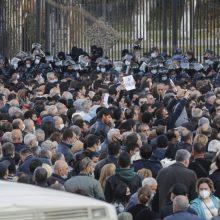 Jerevane tūkstančiai protestuotojų reikalavo N. Pašiniano atsistatydinimo