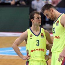 """""""Barcelona"""" privertė pasiduoti Podgoricos krepšininkus"""