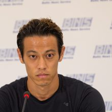 """""""Sūduvoje"""" žais Japonijos futbolo žvaigždė K. Honda"""