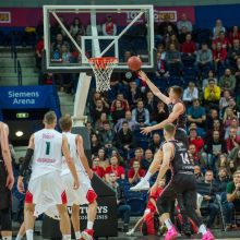 """""""Ryto"""" krepšininkai antrą kartą nugalėjo Krasnodaro ekipą"""