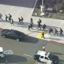 Per šaudynes Los Andželo mokykloje žuvo vienas žmogus, užpuolikas sulaikytas
