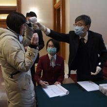 Pasaulio sveikatos organizacija dėl koronaviruso siųs ekspertus į Kiniją