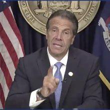 Atsistatydina Niujorko gubernatorius A. Cuomo
