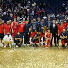 A. Gomelskio taurės finale CSKA sutrypė K. Maksvyčio treniruojamą ekipą
