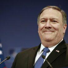 JAV valstybės sekretorius kitą savaitę grįš į Šiaurės Korėją