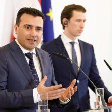 Makedonija žada imtis reformų, leisiančių prisijungti prie ES