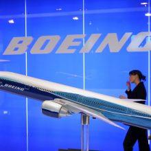 """""""Boeing 737 Max"""" krizė bendrovei kainavo milijardą dolerių"""