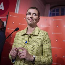 Danijos karalienė įpareigojo socialdemokratų lyderę sudaryti vyriausybę