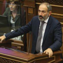 Armėnijos premjeras: paliaubų Kalnų Karabache nėra