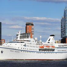 Atvykimą į Klaipėdą atšaukė paskutinis kruizinis laivas