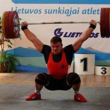 Sunkiaatletis A. Šidiškis pasaulio čempionate – 11-as