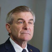 Seimo pirmininkas: šią kadenciją skubos tvarkos nebuvo per daug