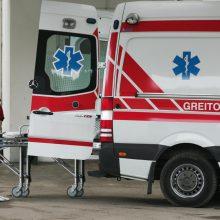 Biržų rajone keturių automobilių avarijoje žuvo žmogus