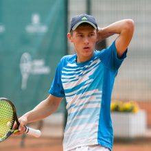 Lietuvos teniso čempionais tapo T. Babelis ir I. Dapkutė