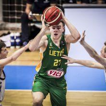 Šešiolikmečiai užtikrinta pergale pradėjo tarptautinį krepšinio turnyrą Turkijoje